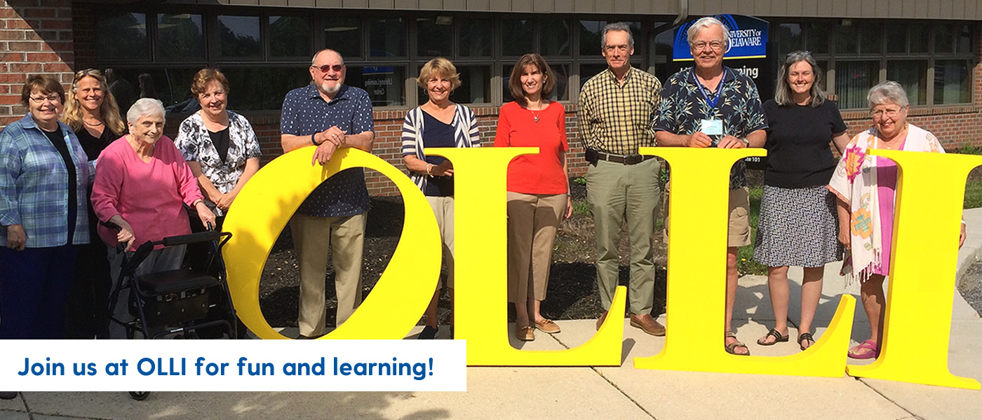 Join us at OLLI for fun and learning